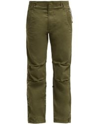 Maharishi - Original Snopants Mountain Embroidered Trousers - Lyst