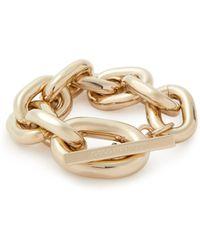 Paco Rabanne Oversized Chain Link Bracelet - Metallic