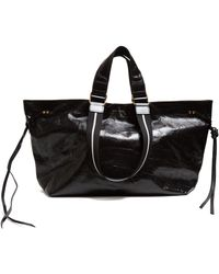 Isabel Marant - Wardy Patent-leather Tote Bag - Lyst