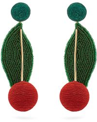 Rebecca de Ravenel | Multicolor Geometric Drop Earrings | Lyst