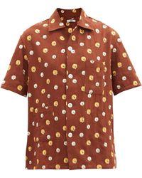Bode - マリーゴールド コットンシャツ - Lyst