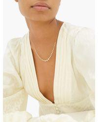 Jade Trau マーヴェリック リヴィエラ ダイヤモンド 18kゴールドネックレス - メタリック