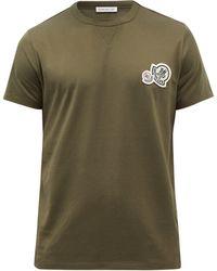 Moncler ロゴ コットンtシャツ - グリーン