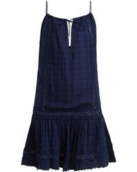 Melissa Odabash - Chelsea Broderie-anglaise Cotton Dress - Lyst
