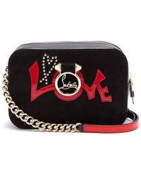 Christian Louboutin - Rubylou Mini Leather Cross-body Bag - Lyst