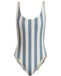 Solid & Striped - The Anne-marie Striped Swimsuit - Lyst