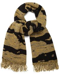 Raey - Football Space Dyed-wool Scarf - Lyst