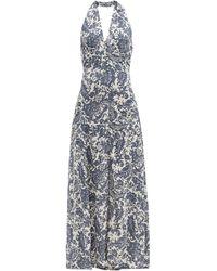 Bella Freud ダーリン オジー フローラル クレープドレス - マルチカラー