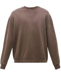 Ksubi クロス ビジー コットンスウェットシャツ - ブラウン