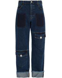 JW Anderson - Multi Pocket Denim Trousers - Lyst
