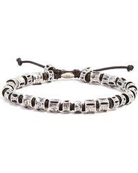 M. Cohen - Sterling Silver Bone Bracelet - Lyst