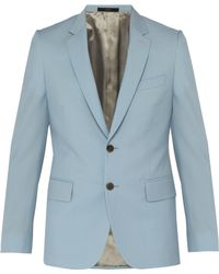 Paul Smith - Soho Tailored Fit Wool And Mohair Blend Jacket - Lyst