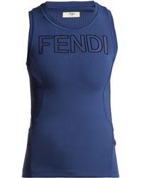 Fendi - Roma Logo Tank Top - Lyst