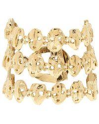 Valentino - Three Strand Skull-embellished Bracelet - Lyst