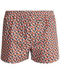 Sunspel - Liberty Floral-print Cotton Boxer Shorts - Lyst