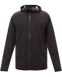 FALKE Performance Hooded Jacket - Black
