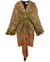 Halpern - グラデーションスパンコール ドレス - Lyst