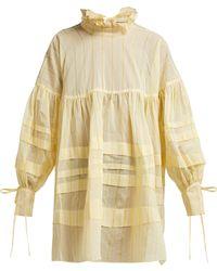 Cecile Bahnsen - Alberte Cotton Blend Dress - Lyst