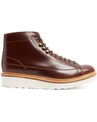 Grenson - Andy Leather Ankle Boots - Lyst