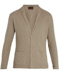 Altea - Linen And Cotton-blend Cardigan - Lyst