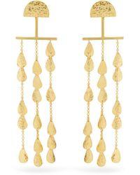 Sophia Kokosalaki - Twilight Gold-plated Earrings - Lyst
