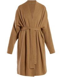 Gabriela Hearst - Andres Cashmere And Silk Blend Wrap Cardigan - Lyst