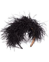 Loewe Feathers Headband - Black