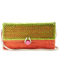 Sophie Anderson - Romina Toquilla Straw Cross Body Body - Lyst