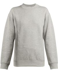 Paco Rabanne - Logo Embroidered Cotton Sweatshirt - Lyst