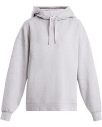Acne Studios - Yala Cotton Jersey Hooded Sweatshirt - Lyst