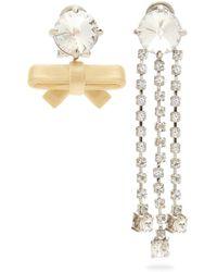 Off-White c/o Virgil Abloh Anahata Diamond, Sapphire, Opal & 18kt Gold Ring - Pink