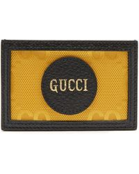 Gucci Off The Grid カードケース - イエロー