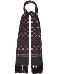 Dolce & Gabbana ポルカドット シルクジョーゼットスカーフ - マルチカラー