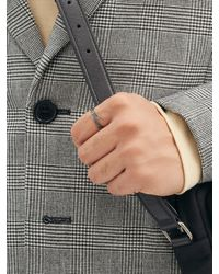 Shaun Leane Interlocking Diamond & 18kt White-gold Ring - Metallic