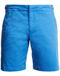 Orlebar Brown | Dane Mid-length Cotton-blend Twill Shorts | Lyst