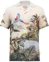 Orlebar Brown トラヴィス キューバンカラー パロットシャツ - マルチカラー