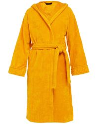 Versace - Medusa Cotton Terry Towelling Robe - Lyst