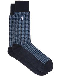 London Sock Company - Jermyn St. コットンブレンドソックス - Lyst