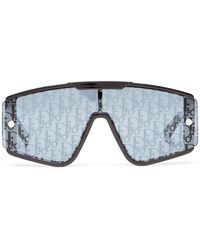 Dior Xtrem モノグラムレンズ マスクサングラス - マルチカラー