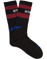 Vetements - X Reebok Classic Cotton-blend Socks - Lyst