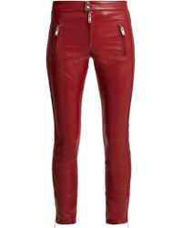 Étoile Isabel Marant - Zappery Faux-leather Trousers - Lyst