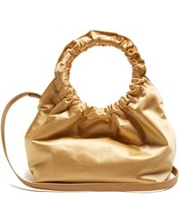 The Row - Double Circle Small Satin Bag - Lyst