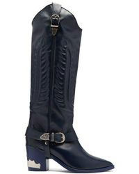 Toga - Leather Knee-high Boots - Lyst