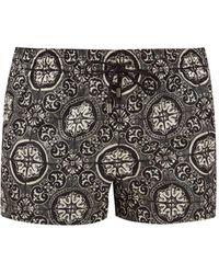 Dolce & Gabbana ジタイルプリント スイムショーツ - マルチカラー