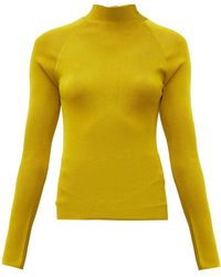 Petar Petrov Kienna Open-back Sweater - Yellow