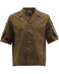 Givenchy パッチポケット コットンシャツ - マルチカラー