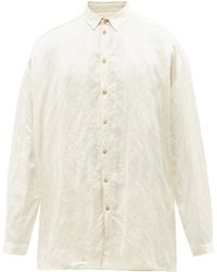 Toogood The Draughtsman Twill Shirt - White