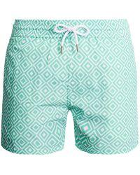 Frescobol Carioca   Sports Angra-print Swim Shorts   Lyst