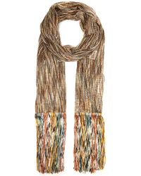 Missoni Open Knit Tasselled Scarf
