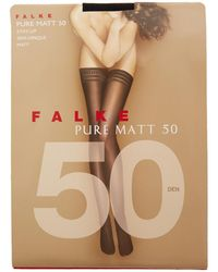 Falke | Pure Matt 50 Denier Hold Ups | Lyst
